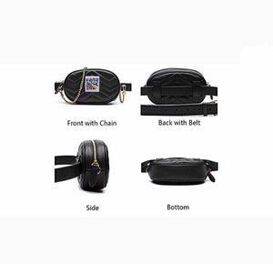 Women's Leather Waist Bags
