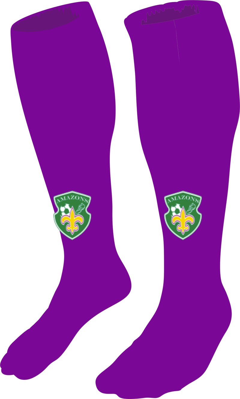BBS Amazons Socks Purple
