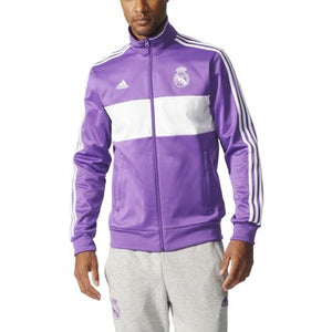 adidas Real M 3S Trk Top Purple-Whi