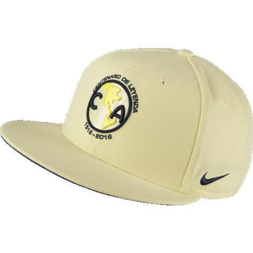 Nike America Core Cap Lemon-Navy