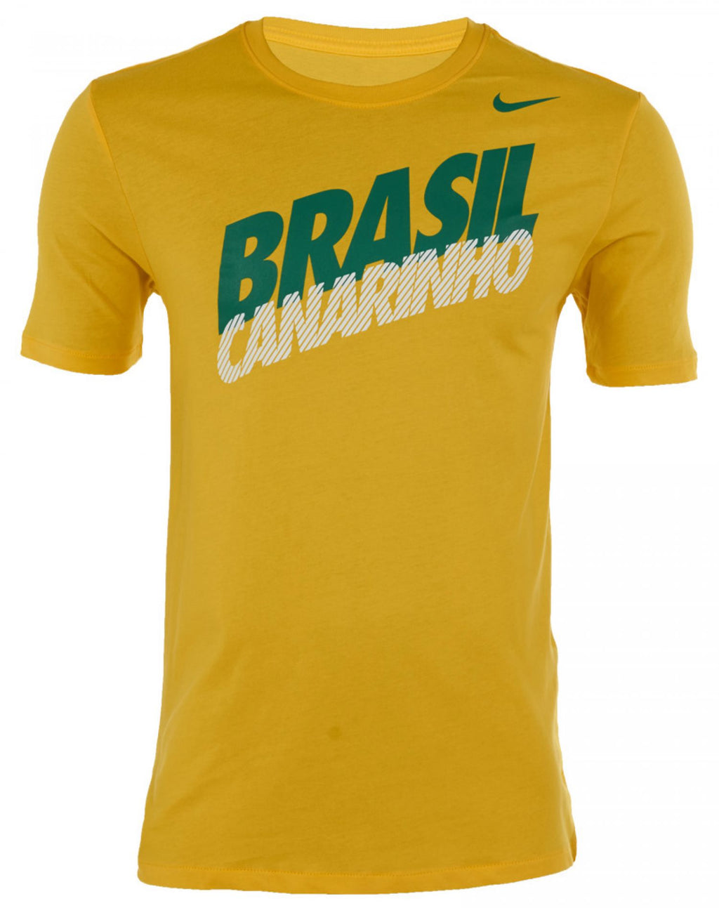 Nike Brasil Core Type Tee Yellow-