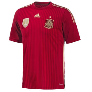 adidas Spain Home Jsy 13-14 Red