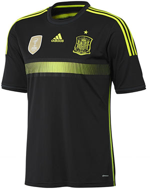 adidas Spain Away Jsy  Kids 14 Black