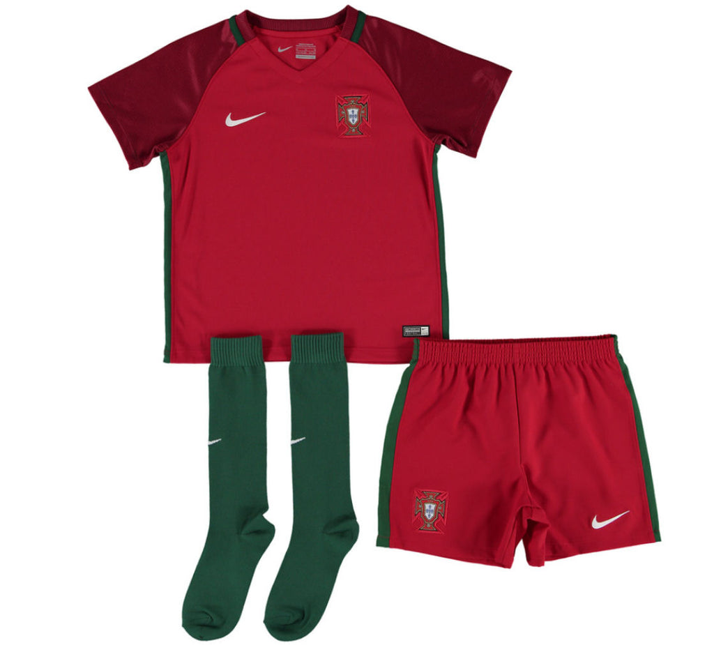 Nike Portugal Home LK Kit Red/Gre