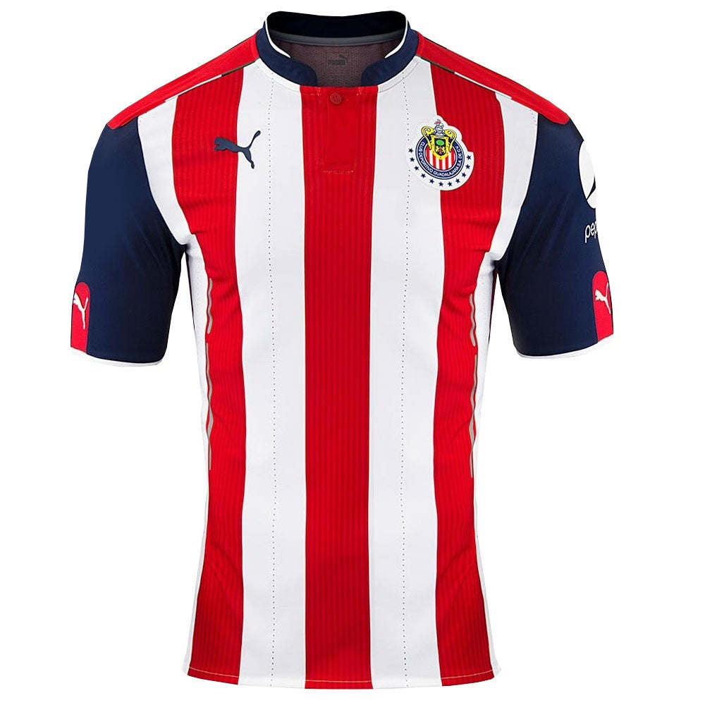 Puma Chivas Home Shirt  Kids 16-17