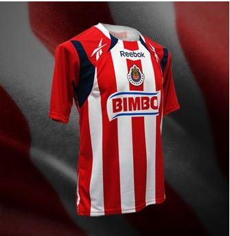 R Chivas Home Youth 10-11Rd-Wh