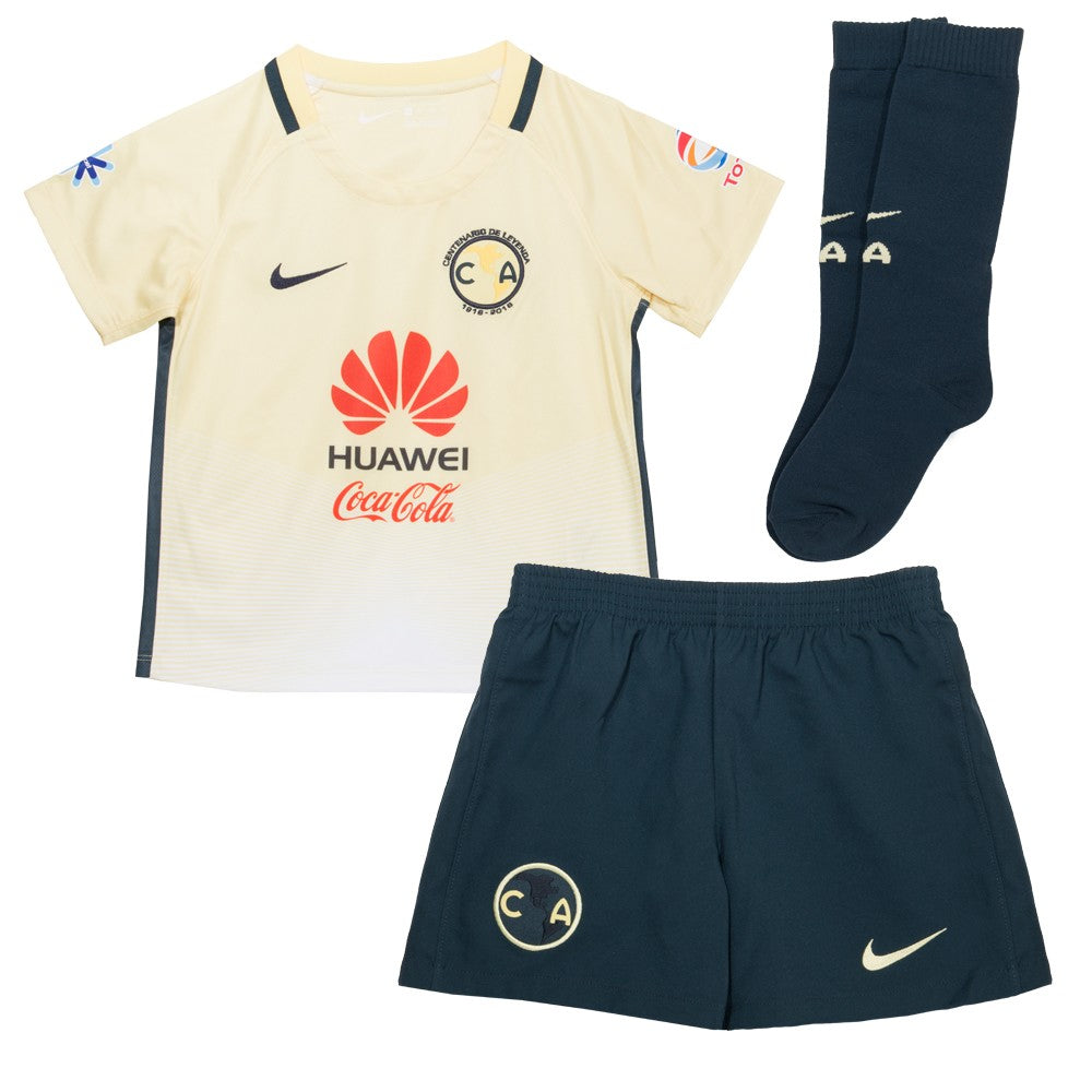 Nike America Home LT Kit 16 Lemon