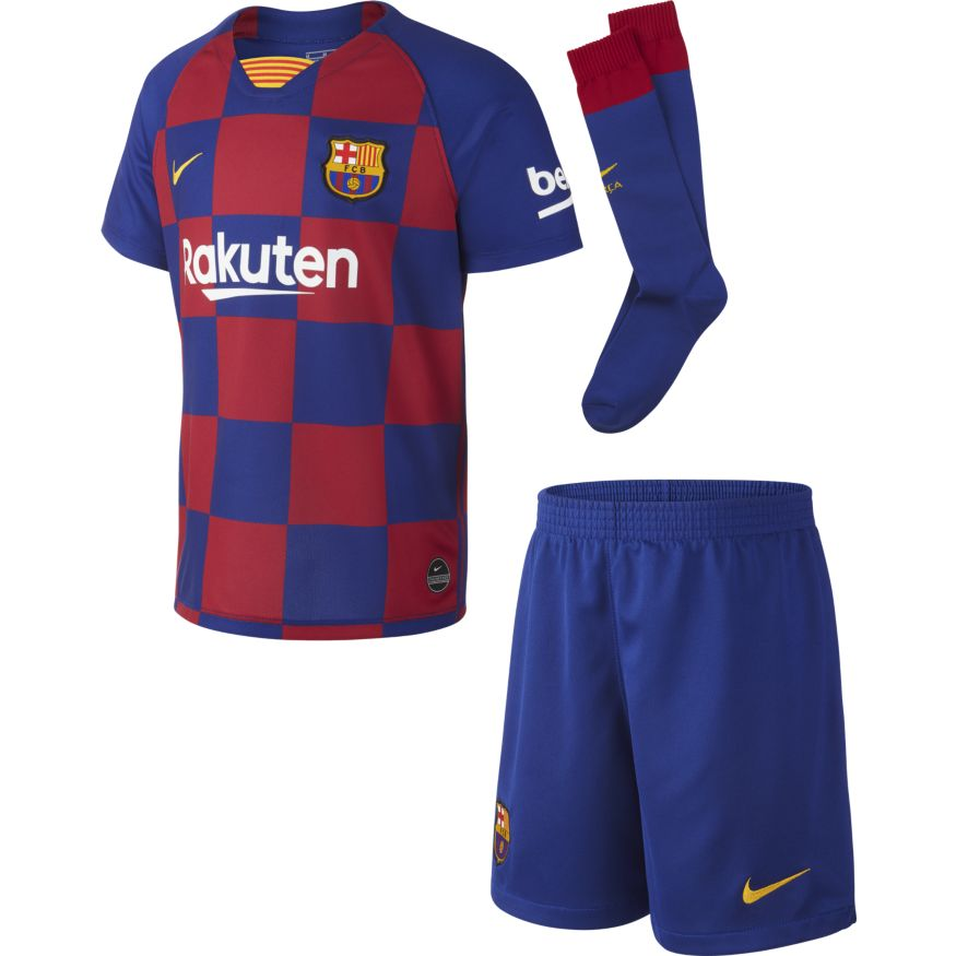 Nike Barcelona Home Kids Kit 19 D