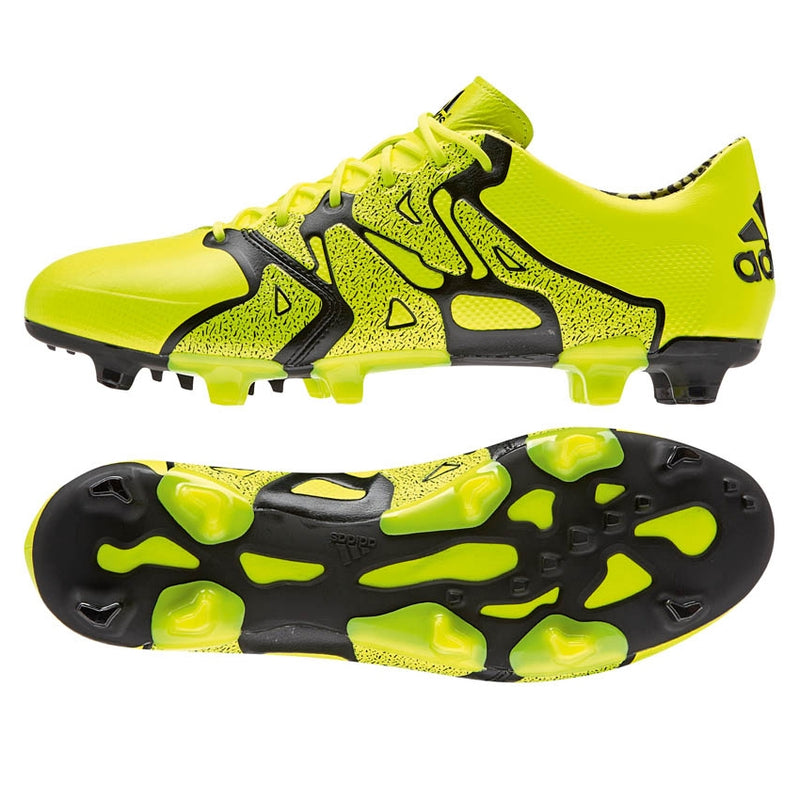 adidas X 15.1 FG-AG Leather Yellow-