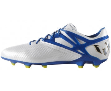 adidas Messi 15.1 FG-AG White-Blue-