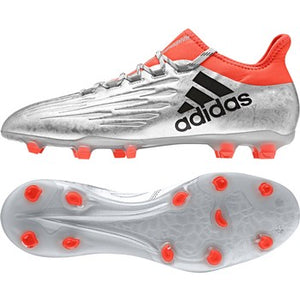 adidas X 16.2 FG Silver-Black-Red