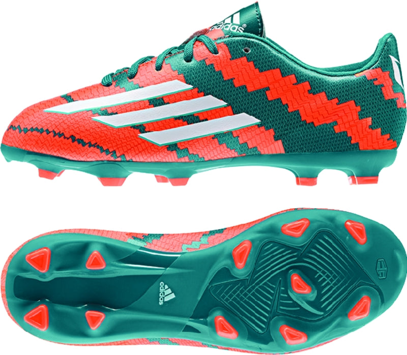 adidas Messi 10.3 FG J Green-Orange Kids