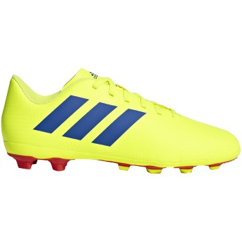 adidas Nemeziz 18.4 FXG J Yellow-Bl Kids