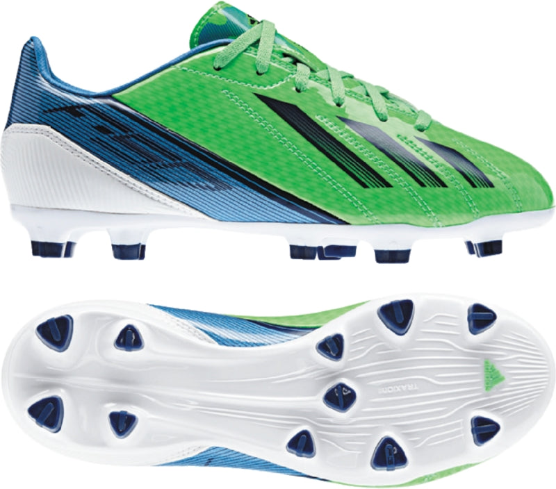 adidas F10 Trx FG J Green-Blue Kids