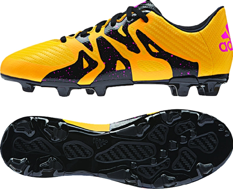 adidas X 15.3 FG-AG J Gold-Black-Pi Kids