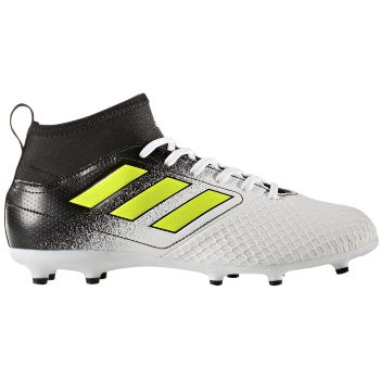 adidas Ace 17.3 FG J White-Yellow-B Kids