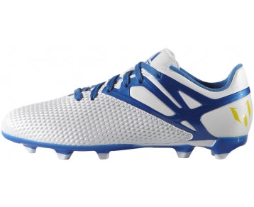 adidas Messi 15.3 FG-AG J White-Blu Kids
