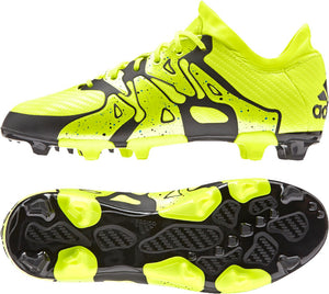 adidas X 15.1 FG-AG J Yellow-Black Kids