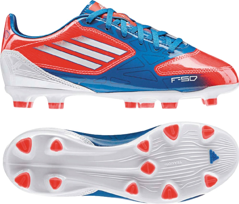 adidas F10 Trx FG Jr Red-Blue Kids