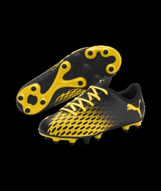 Puma Spirit III FG J Black/Yellow