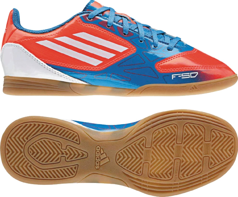 adidas F5 IN J Red-Blue Kids
