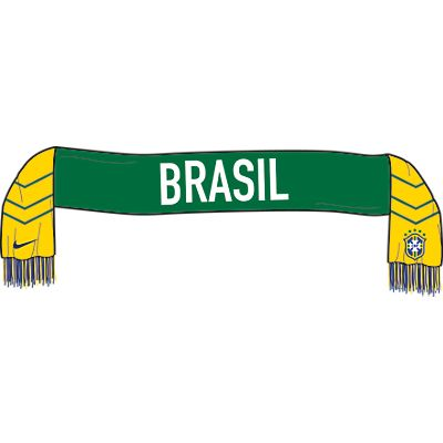 Nike Brasil Supporters Scarf