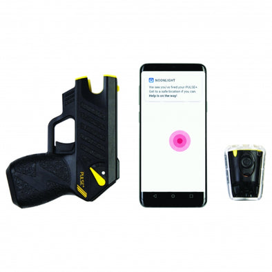 Taser Pulse Plus Noonlight Emergency Response App.