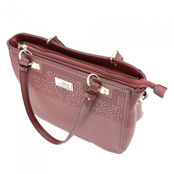 Radiant Concealed Carry Purse: Wine