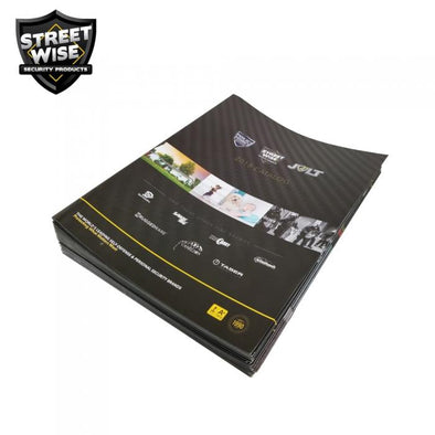 Streetwise Security Products 2018 Catalog (Pack of 25)