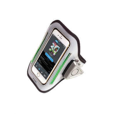 MYGUARD SPORT LED Armband & Safety Alarm w-Phone Holder