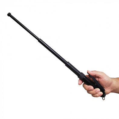 Police Force 21 Inch EZ Close Automatic Expandable Steel Baton