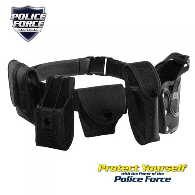 Police Force Duty Belt -XL