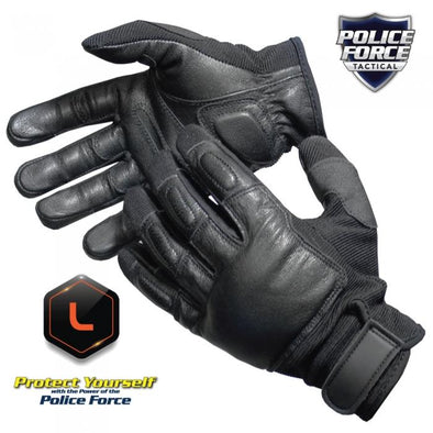 Police Force Tactical SAP Gloves- Large