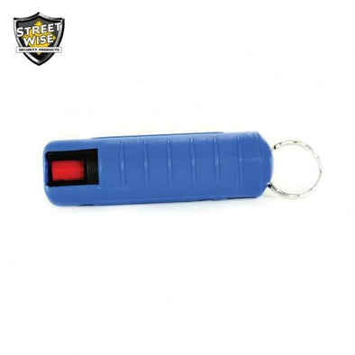 Lab Certified Streetwise 18 Pepper Spray, 1-2 oz. Hard Case BLUE
