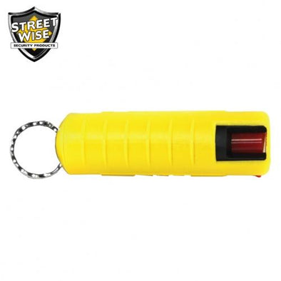 Lab Certified Streetwise 18 Pepper Spray, 1-2 oz. Hard Case YELLOW