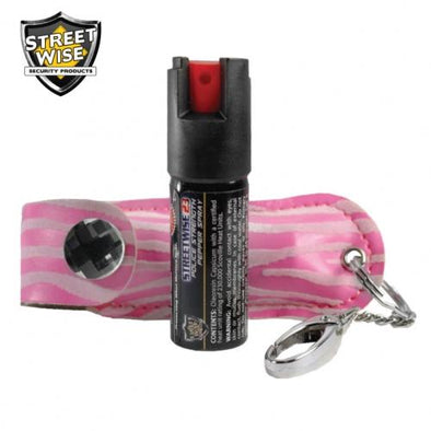 Streetwise Fashion Model Pepper Spray 23 Pink & White