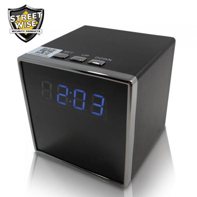 Streetwise Cube Clock WiFi IP Camera