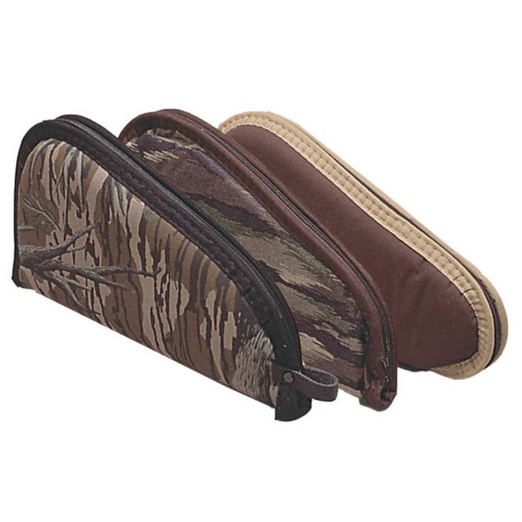 Assorted Earthtone And Camo Pistol Cases - 8 Inches