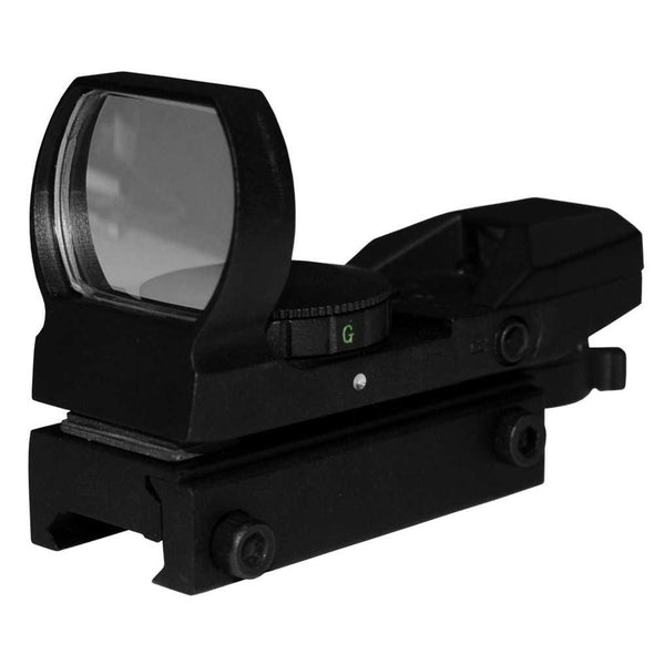 Tactical Electro Dot Sight, Red And Green With Four Reticals - American Tactical Imports Optics | EM Self Defense and Security - quality shooting optics, affordable marksman rangefinder, inexpensive rifle scopes