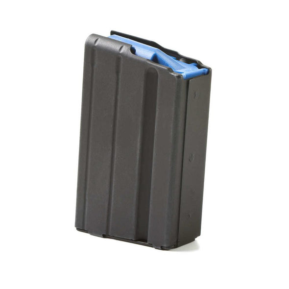 Ar-15 6.5-.264 Stainless 10 Round Grendel Magazine - Marlube Black, Blue Follower - ASC Shooting | EM Self Defense and Security - factory replacement magazines, pistol high capacity magazines, high quality rifle magazines