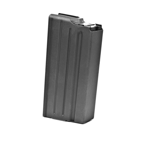 Sr25-dpms .308 Sr Stainless 20 Round Magazine - Marlube Black, Black Follower