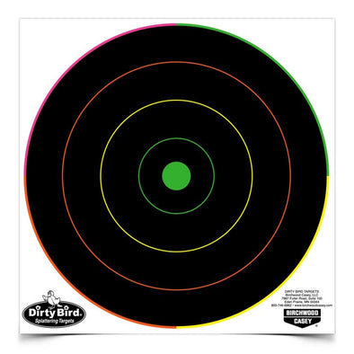 "Dirty Bird 8"" Multi-color Bull's-eye Target"
