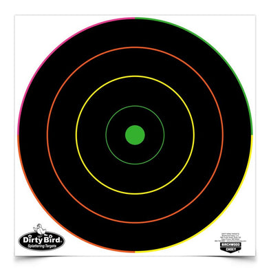 "Dirty Bird 12"" Multi-color Bull's-eye Target"