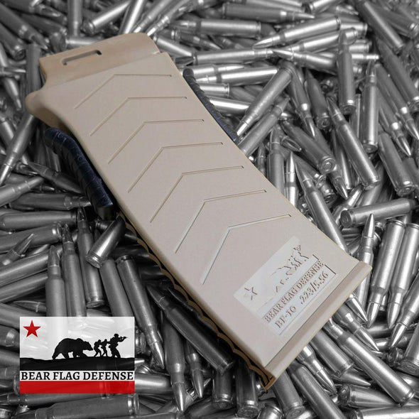 Bf-10 - Flat Dark Earth - BEAR FLAG DEFENSE Shooting | EM Self Defense and Security - factory replacement magazines, pistol high capacity magazines, high quality rifle magazines