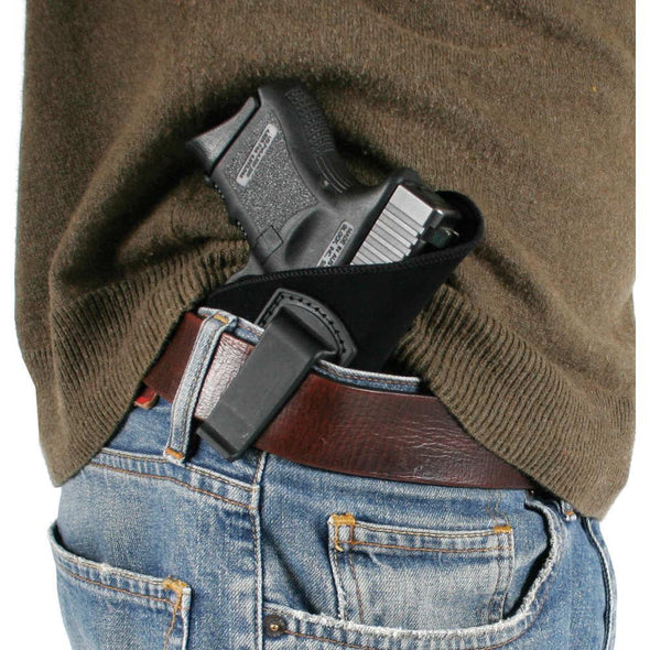 Inside-the-pants Holster - Black, Size 04, Right Hand - Blackhawk Shooting | EM Self Defense and Security - high quality concealed carry holsters, ankle gun holsters concealed, gun holder for car