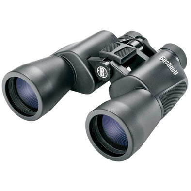 Powerview Porro Prism 10x50mm Binoculars - Black - Bushnell Optics | EM Self Defense and Security - quality shooting optics, affordable marksman rangefinder, inexpensive rifle scopes