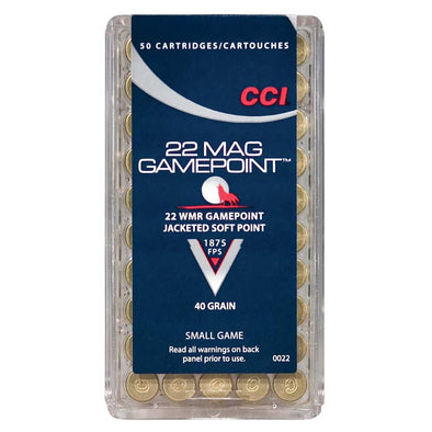 Gamepoint 22 Win Mag - Jsp - 40gr - 50 Rounds