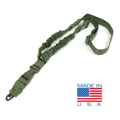 Hellfighter Bungee Sling - Od Green - DDT INC Shooting | EM Self Defense and Security - professional gun cleaning kit, hunting backpack with gun holder, 12 gauge cleaning kit, Picatinny rail torch, standing bipod