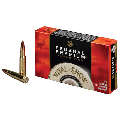 Vital-shok Ammunition - 7mm Winchester Short Magnum - Trophy Bonded Tip - 140 Grain - Federal Ammunition Shooting | EM Self Defense and Security - competition grade ammunition, high quality name brand ammo, inexpensive rifle and handgun ammunition