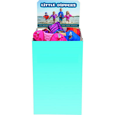 Full Throttle Child Little Dippers Vests Bin - Assorted Colors